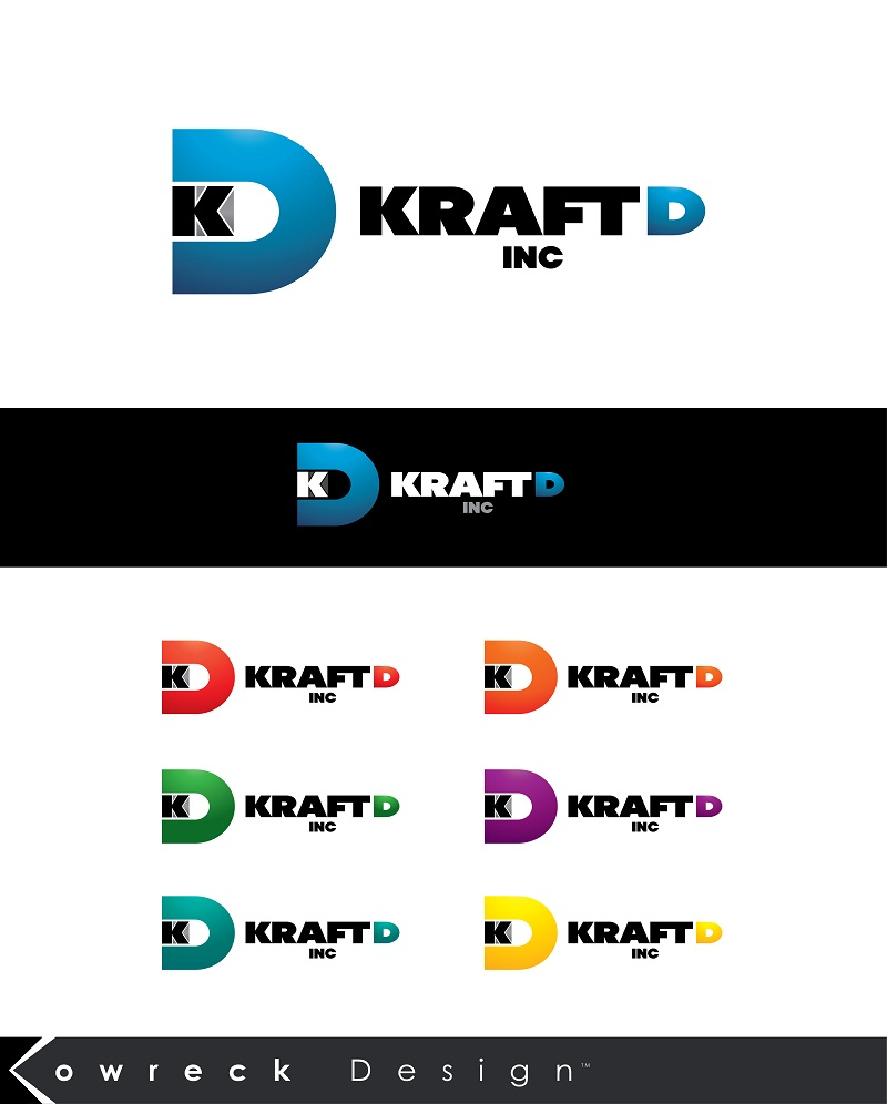 Logo Design by kowreck - Entry No. 241 in the Logo Design Contest Unique Logo Design Wanted for Kraft D Inc.