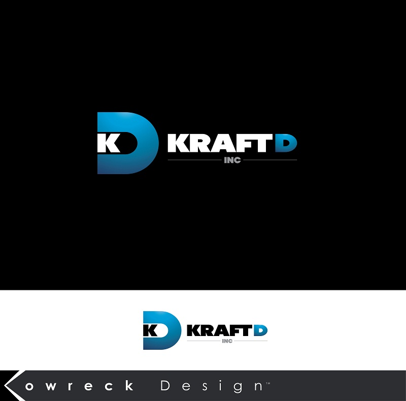 Logo Design by kowreck - Entry No. 242 in the Logo Design Contest Unique Logo Design Wanted for Kraft D Inc.