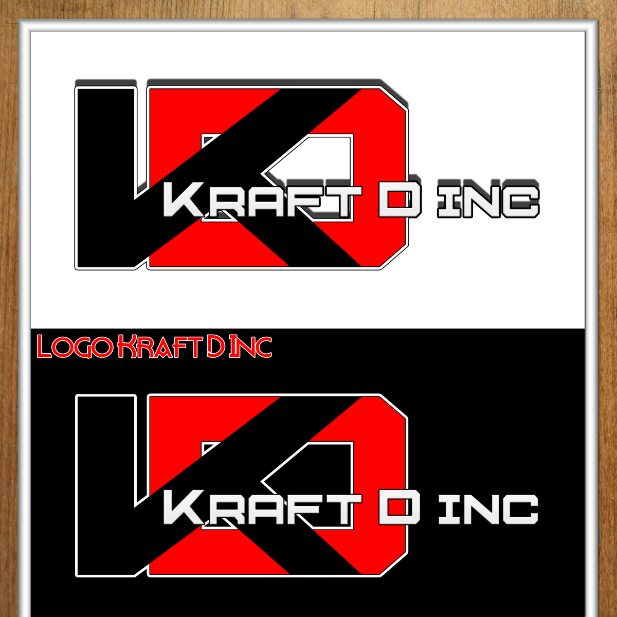 Logo Design by MITUCA ANDREI - Entry No. 243 in the Logo Design Contest Unique Logo Design Wanted for Kraft D Inc.