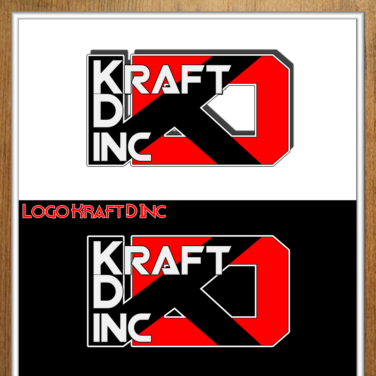 Logo Design by MITUCA ANDREI - Entry No. 244 in the Logo Design Contest Unique Logo Design Wanted for Kraft D Inc.