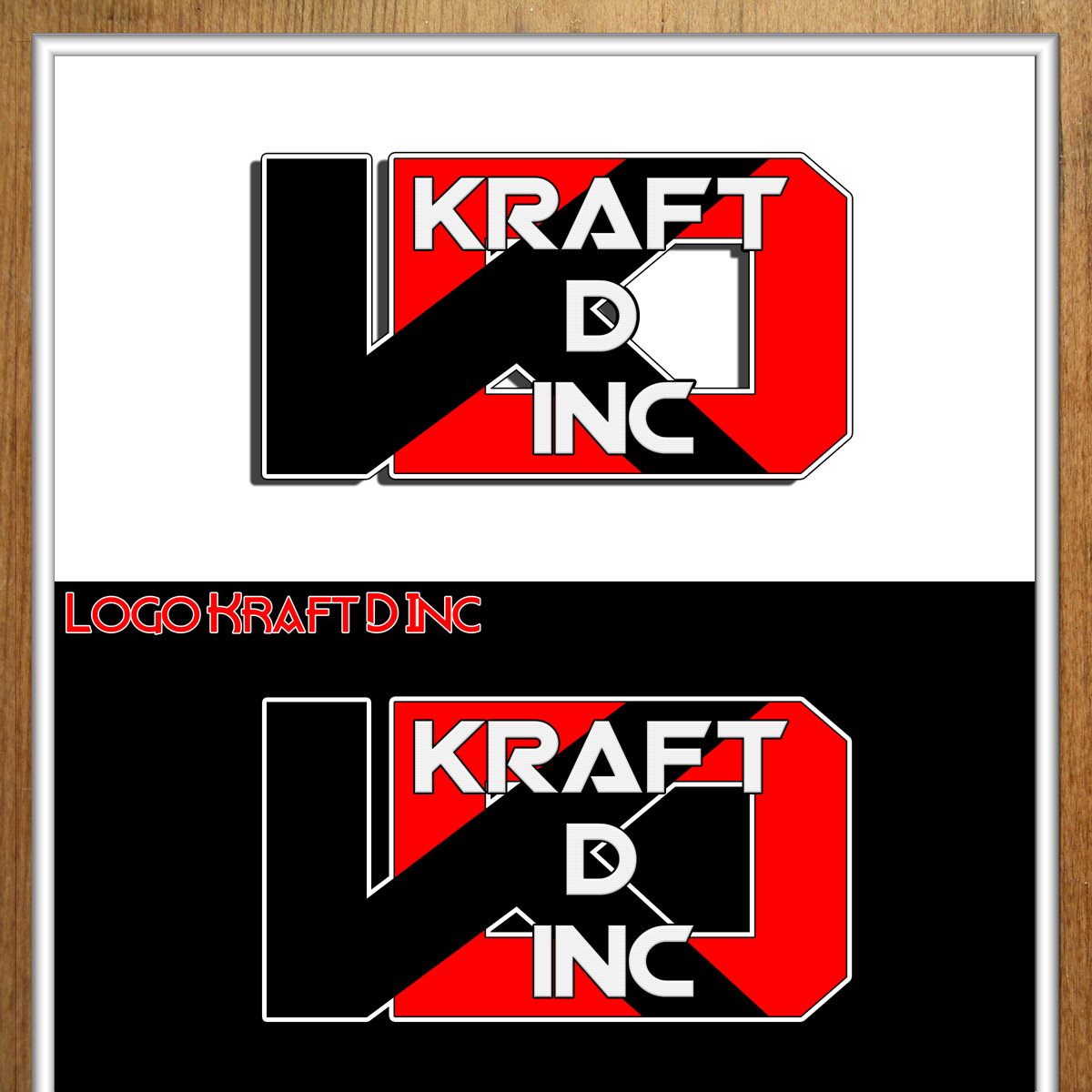 Logo Design by MITUCA ANDREI - Entry No. 245 in the Logo Design Contest Unique Logo Design Wanted for Kraft D Inc.
