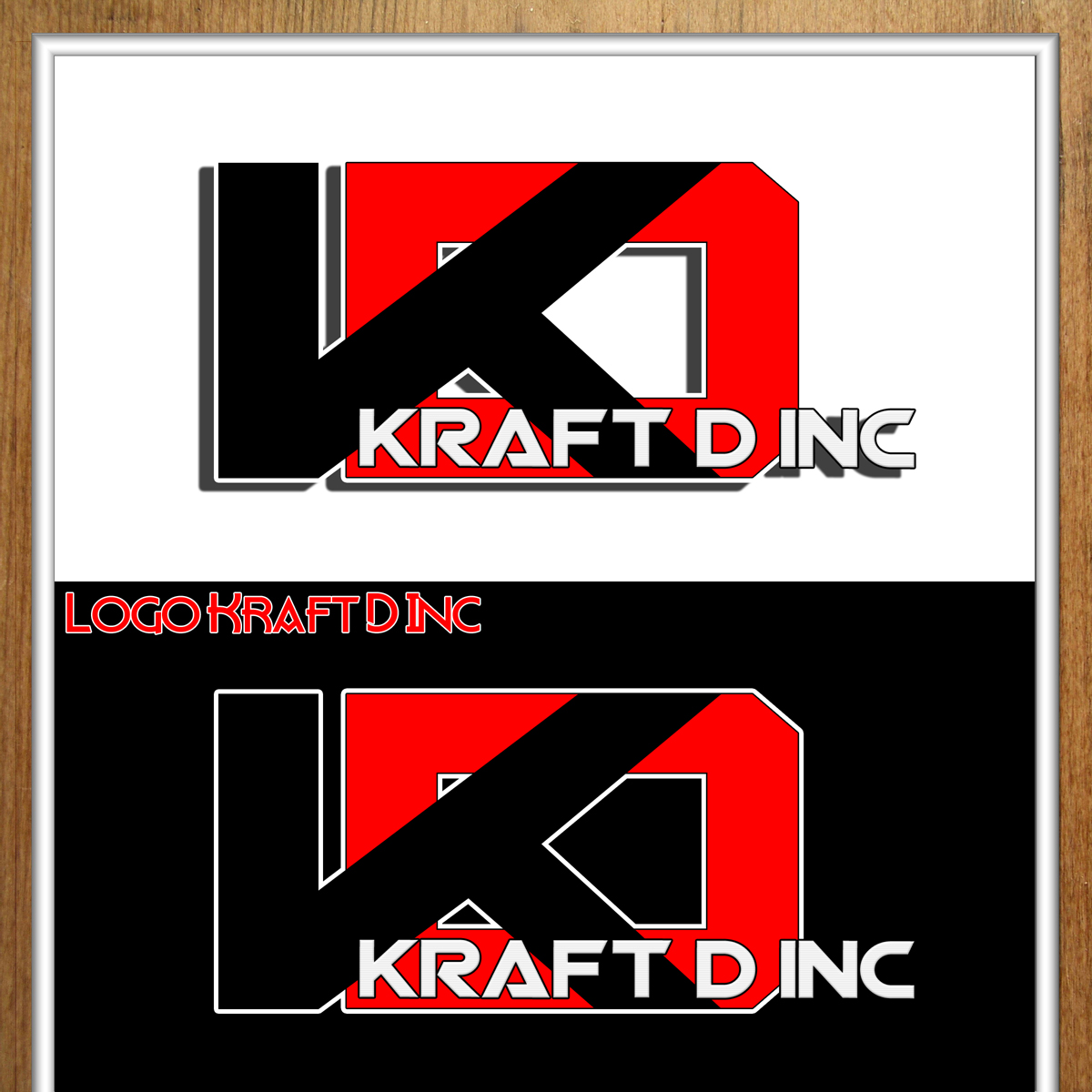 Logo Design by MITUCA ANDREI - Entry No. 246 in the Logo Design Contest Unique Logo Design Wanted for Kraft D Inc.