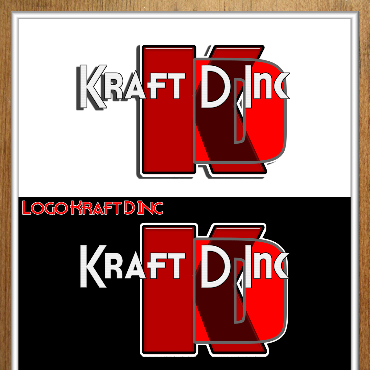 Logo Design by MITUCA ANDREI - Entry No. 248 in the Logo Design Contest Unique Logo Design Wanted for Kraft D Inc.
