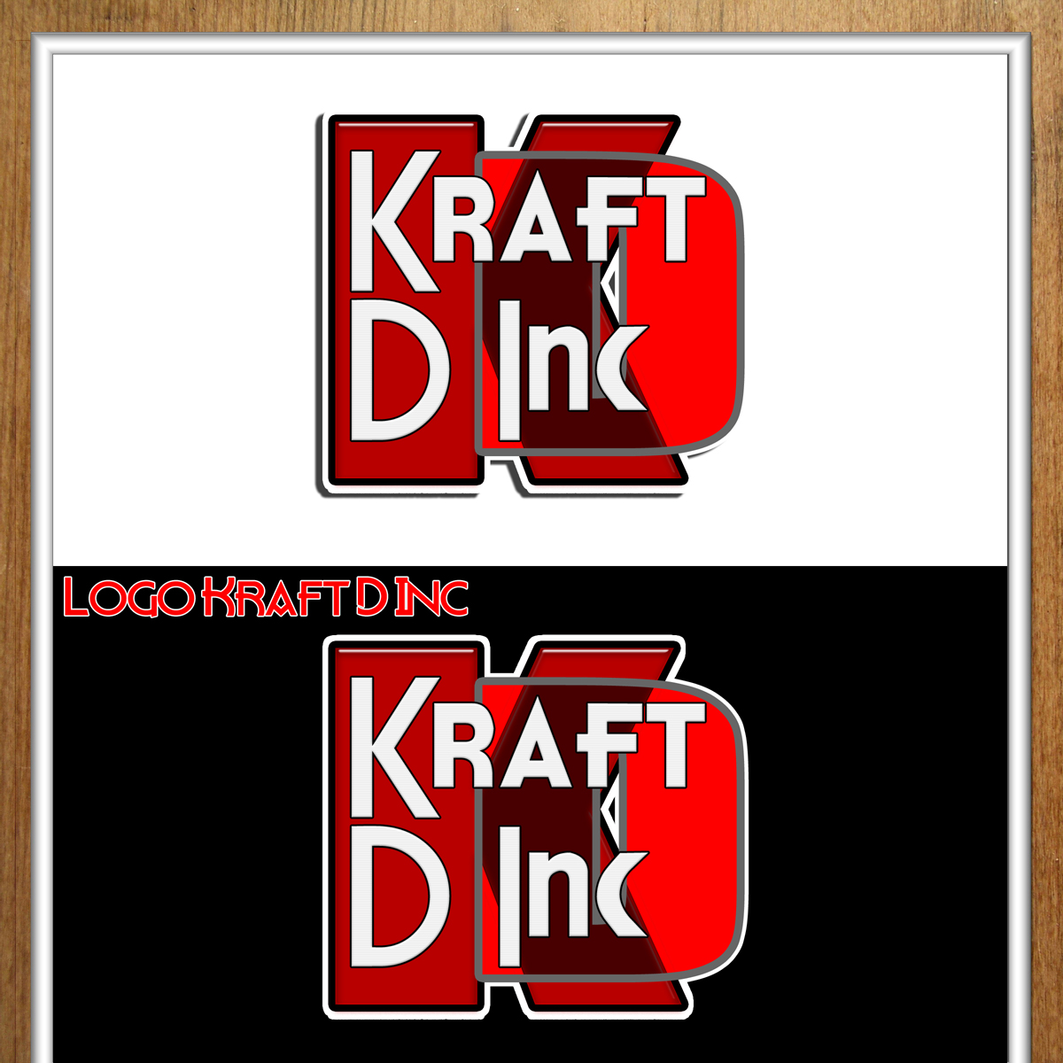 Logo Design by MITUCA ANDREI - Entry No. 249 in the Logo Design Contest Unique Logo Design Wanted for Kraft D Inc.