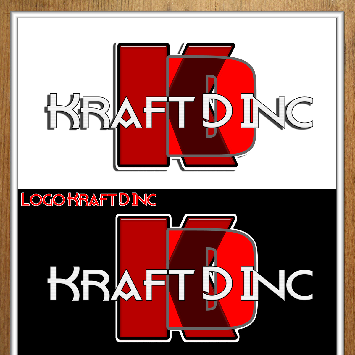 Logo Design by MITUCA ANDREI - Entry No. 250 in the Logo Design Contest Unique Logo Design Wanted for Kraft D Inc.