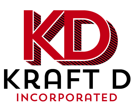Logo Design by Nona Smith - Entry No. 251 in the Logo Design Contest Unique Logo Design Wanted for Kraft D Inc.
