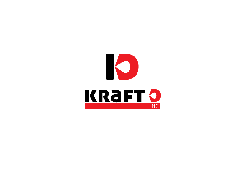 Logo Design by Severiano Fernandes - Entry No. 252 in the Logo Design Contest Unique Logo Design Wanted for Kraft D Inc.