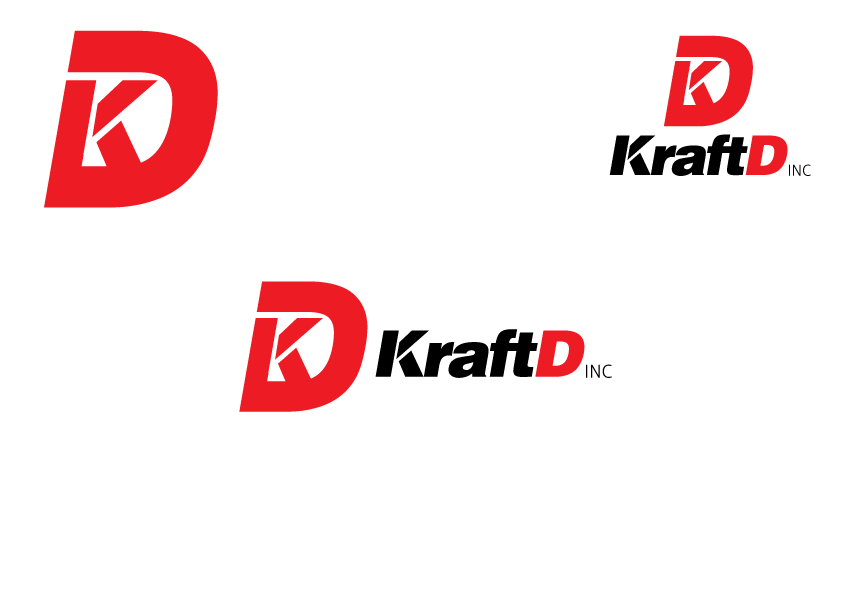 Logo Design by Severiano Fernandes - Entry No. 253 in the Logo Design Contest Unique Logo Design Wanted for Kraft D Inc.