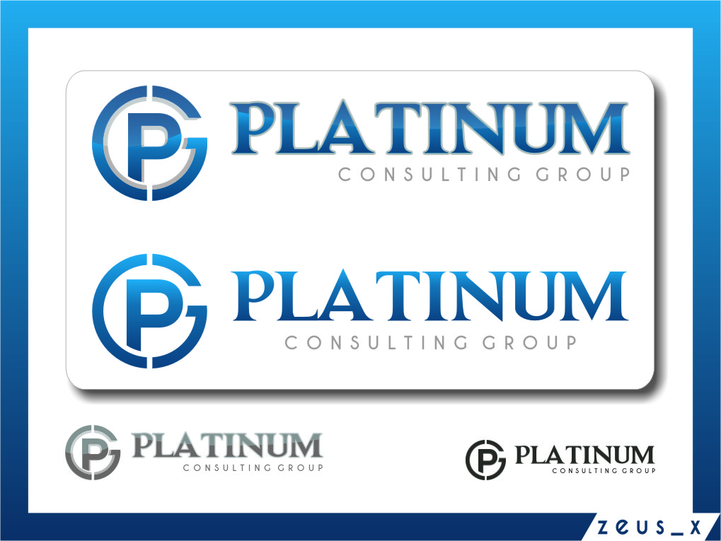 Logo Design by RasYa Muhammad Athaya - Entry No. 38 in the Logo Design Contest Captivating Logo Design for Platinum Consulting Group.