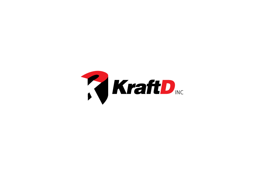 Logo Design by Severiano Fernandes - Entry No. 254 in the Logo Design Contest Unique Logo Design Wanted for Kraft D Inc.