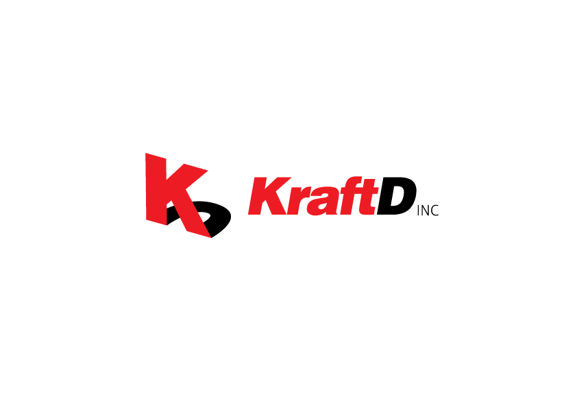 Logo Design by Severiano Fernandes - Entry No. 255 in the Logo Design Contest Unique Logo Design Wanted for Kraft D Inc.