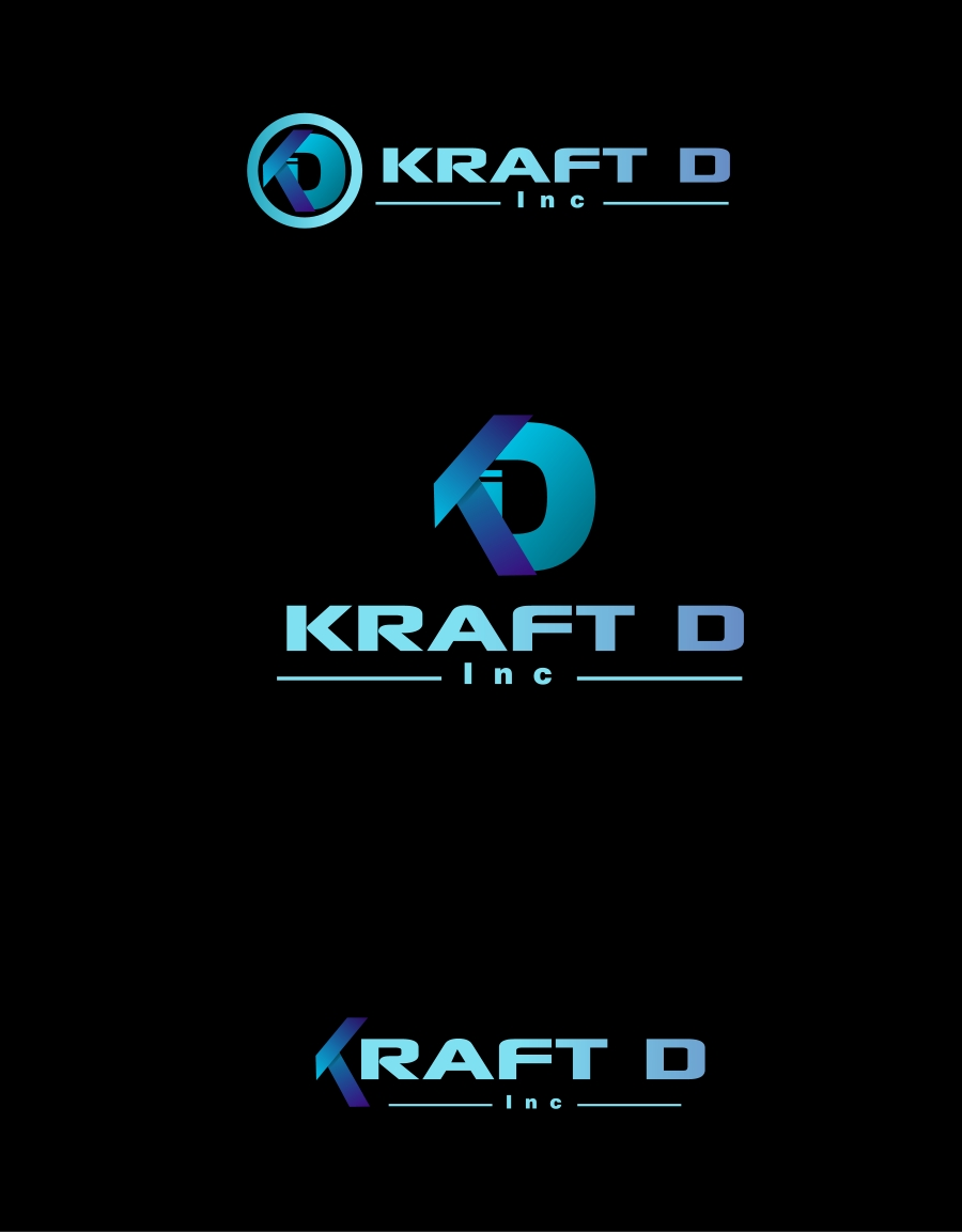 Logo Design by Private User - Entry No. 256 in the Logo Design Contest Unique Logo Design Wanted for Kraft D Inc.