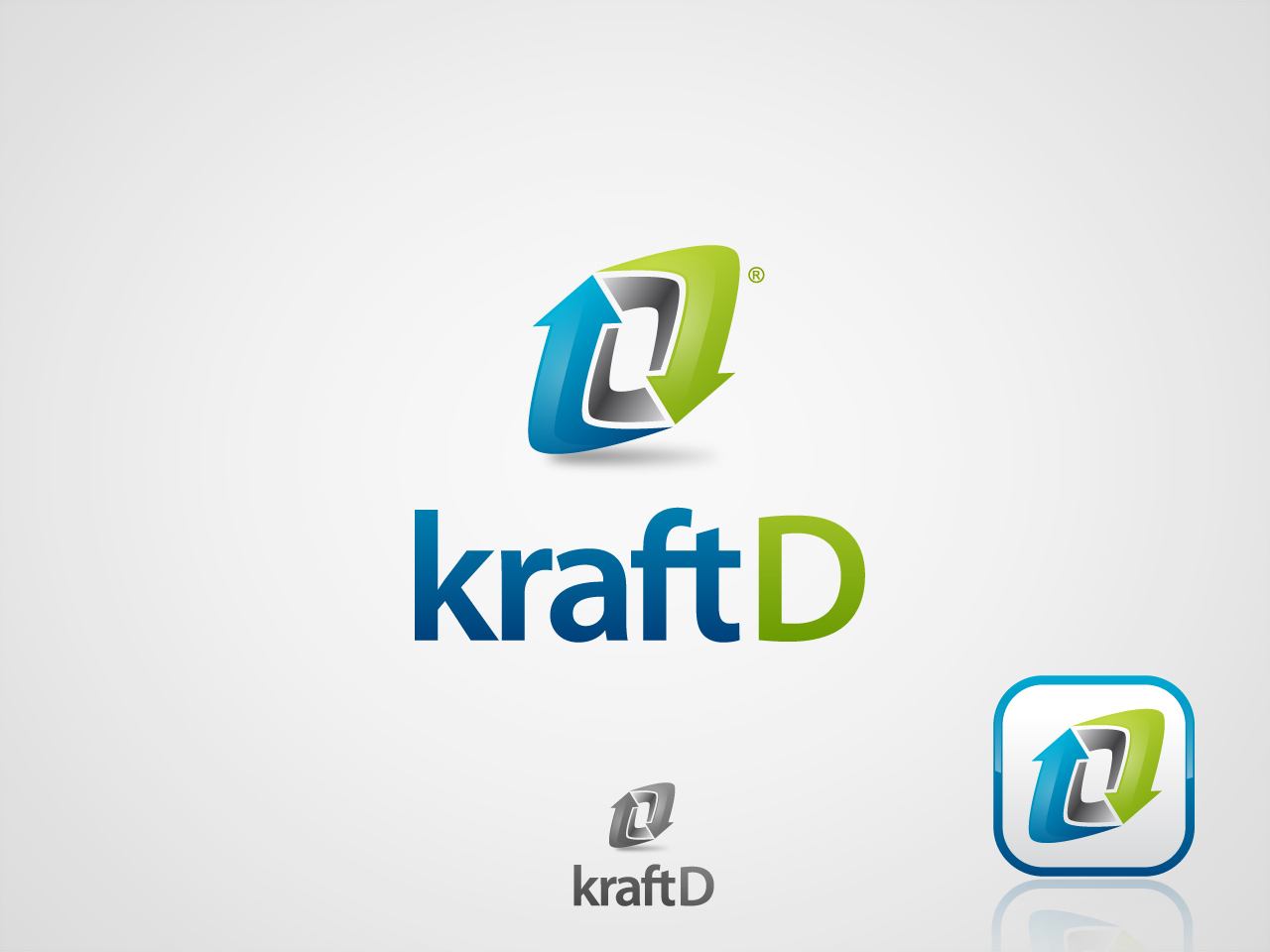 Logo Design by jpbituin - Entry No. 259 in the Logo Design Contest Unique Logo Design Wanted for Kraft D Inc.