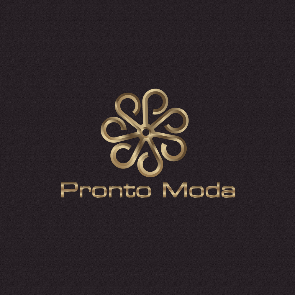 Logo Design by rockin - Entry No. 5 in the Logo Design Contest Captivating Logo Design for Pronto moda.