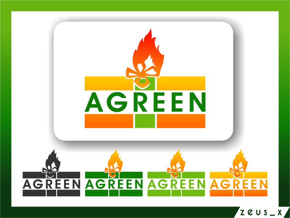 Logo Design by RasYa Muhammad Athaya - Entry No. 91 in the Logo Design Contest Inspiring Logo Design for Agreen.