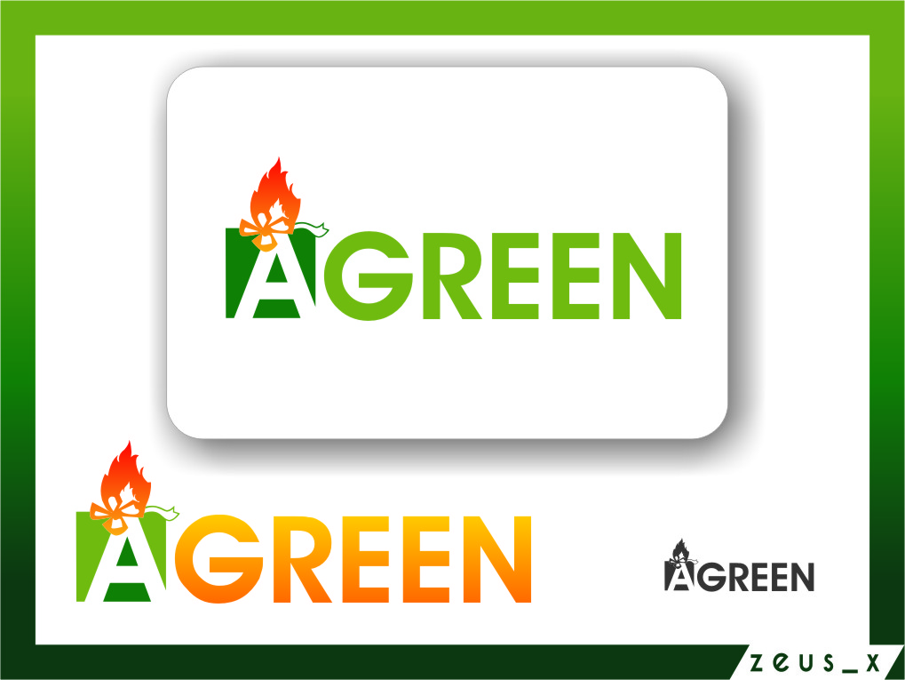 Logo Design by Ngepet_art - Entry No. 92 in the Logo Design Contest Inspiring Logo Design for Agreen.