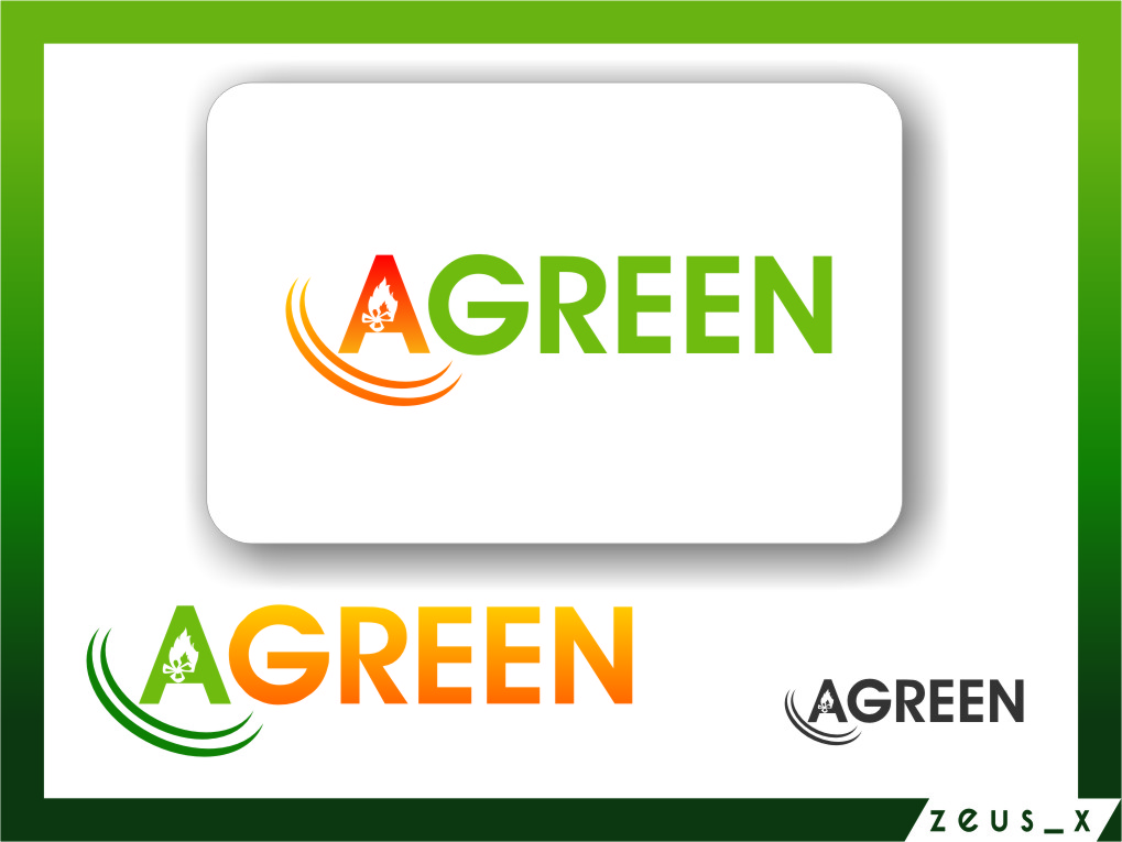 Logo Design by RasYa Muhammad Athaya - Entry No. 93 in the Logo Design Contest Inspiring Logo Design for Agreen.
