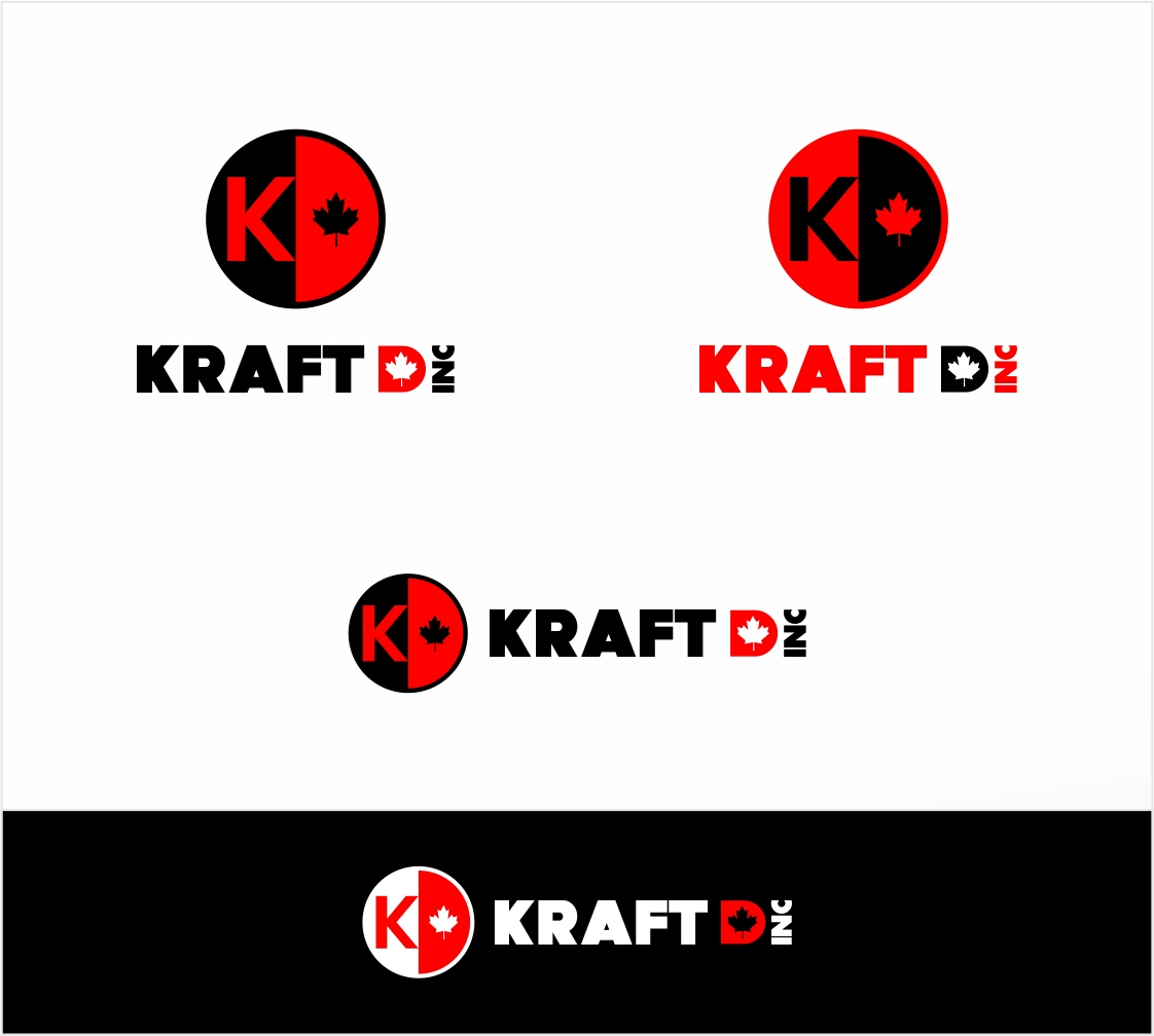 Logo Design by haidu - Entry No. 263 in the Logo Design Contest Unique Logo Design Wanted for Kraft D Inc.