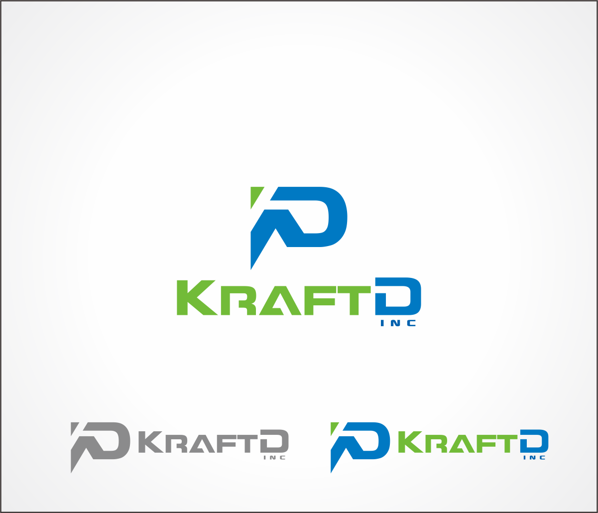 Logo Design by Armada Jamaluddin - Entry No. 265 in the Logo Design Contest Unique Logo Design Wanted for Kraft D Inc.