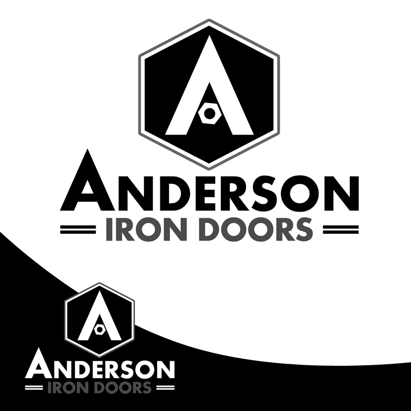 Logo Design by Private User - Entry No. 10 in the Logo Design Contest Artistic Logo Design for Anderson Iron Doors.
