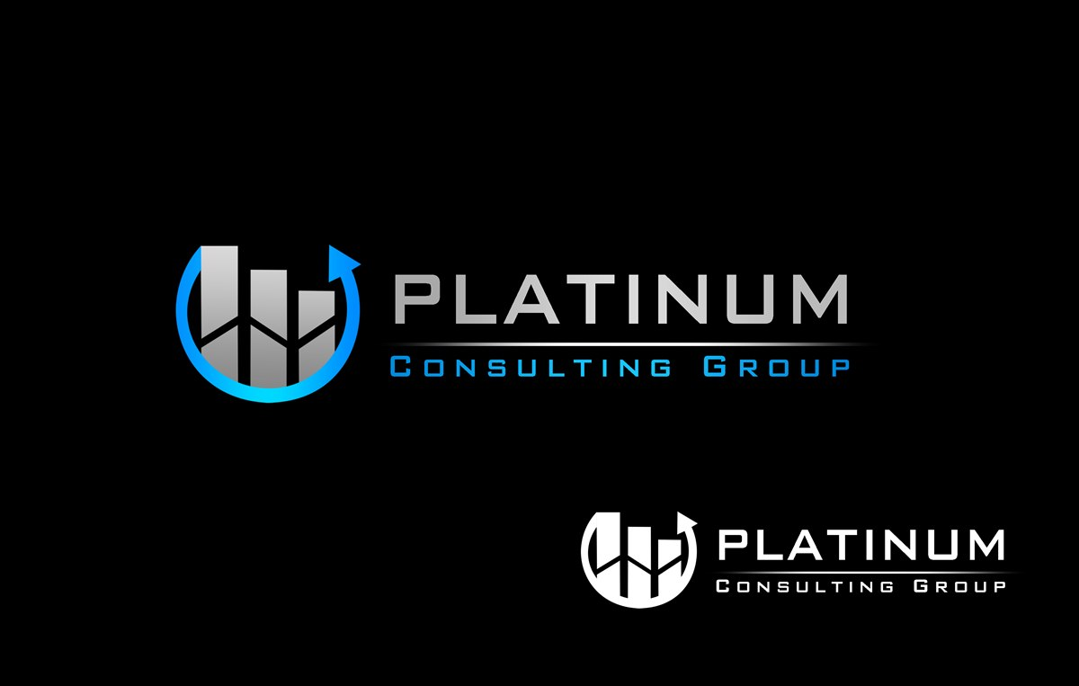 Logo Design by Respati Himawan - Entry No. 43 in the Logo Design Contest Captivating Logo Design for Platinum Consulting Group.