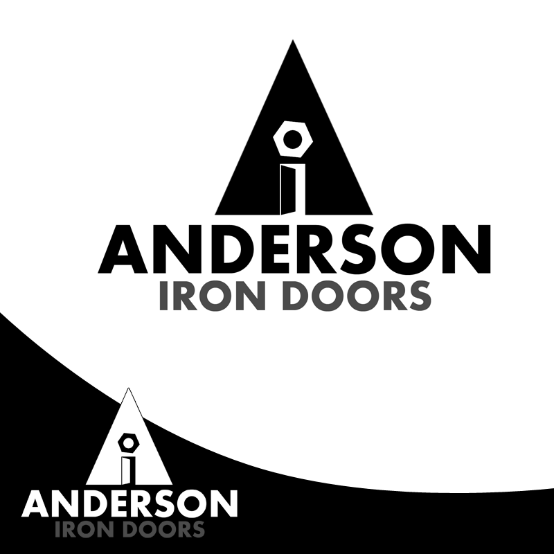 Logo Design by Private User - Entry No. 11 in the Logo Design Contest Artistic Logo Design for Anderson Iron Doors.