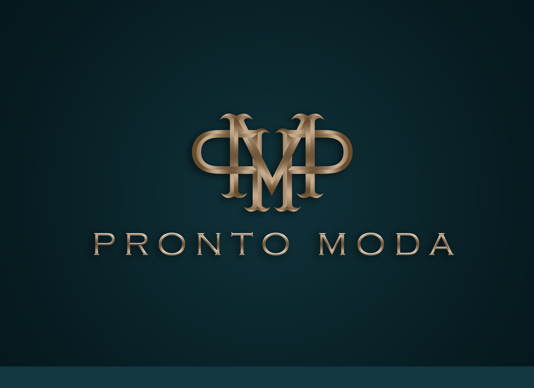 Logo Design by omARTist - Entry No. 8 in the Logo Design Contest Captivating Logo Design for Pronto moda.