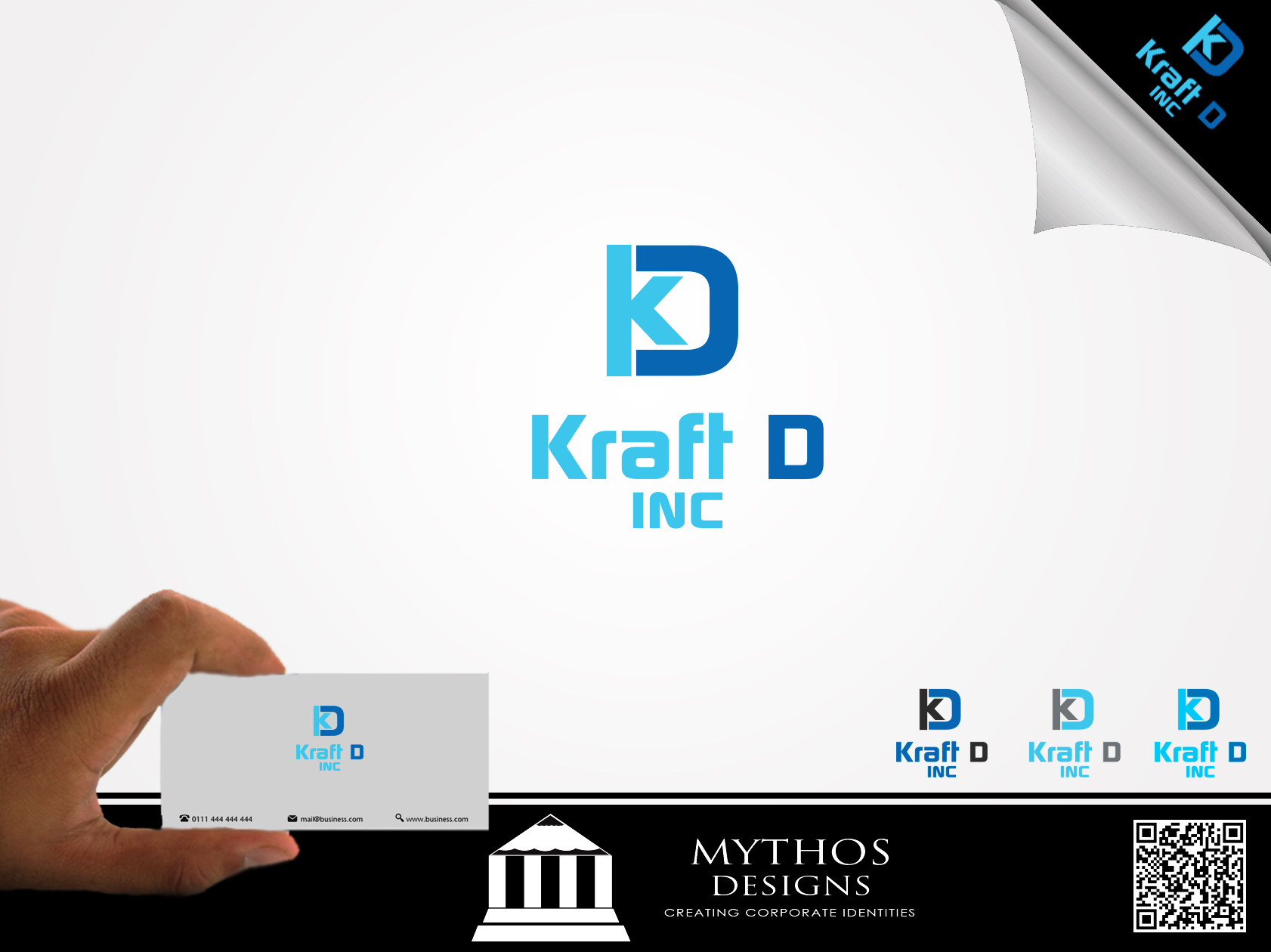 Logo Design by Mythos Designs - Entry No. 270 in the Logo Design Contest Unique Logo Design Wanted for Kraft D Inc.
