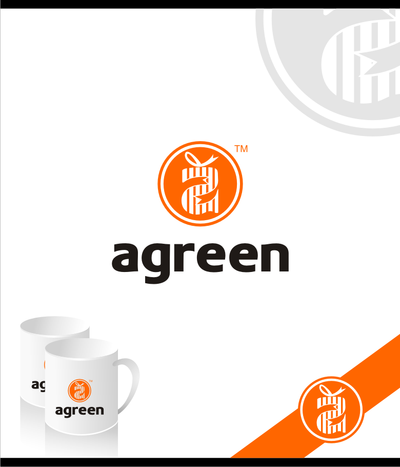 Logo Design by graphicleaf - Entry No. 97 in the Logo Design Contest Inspiring Logo Design for Agreen.