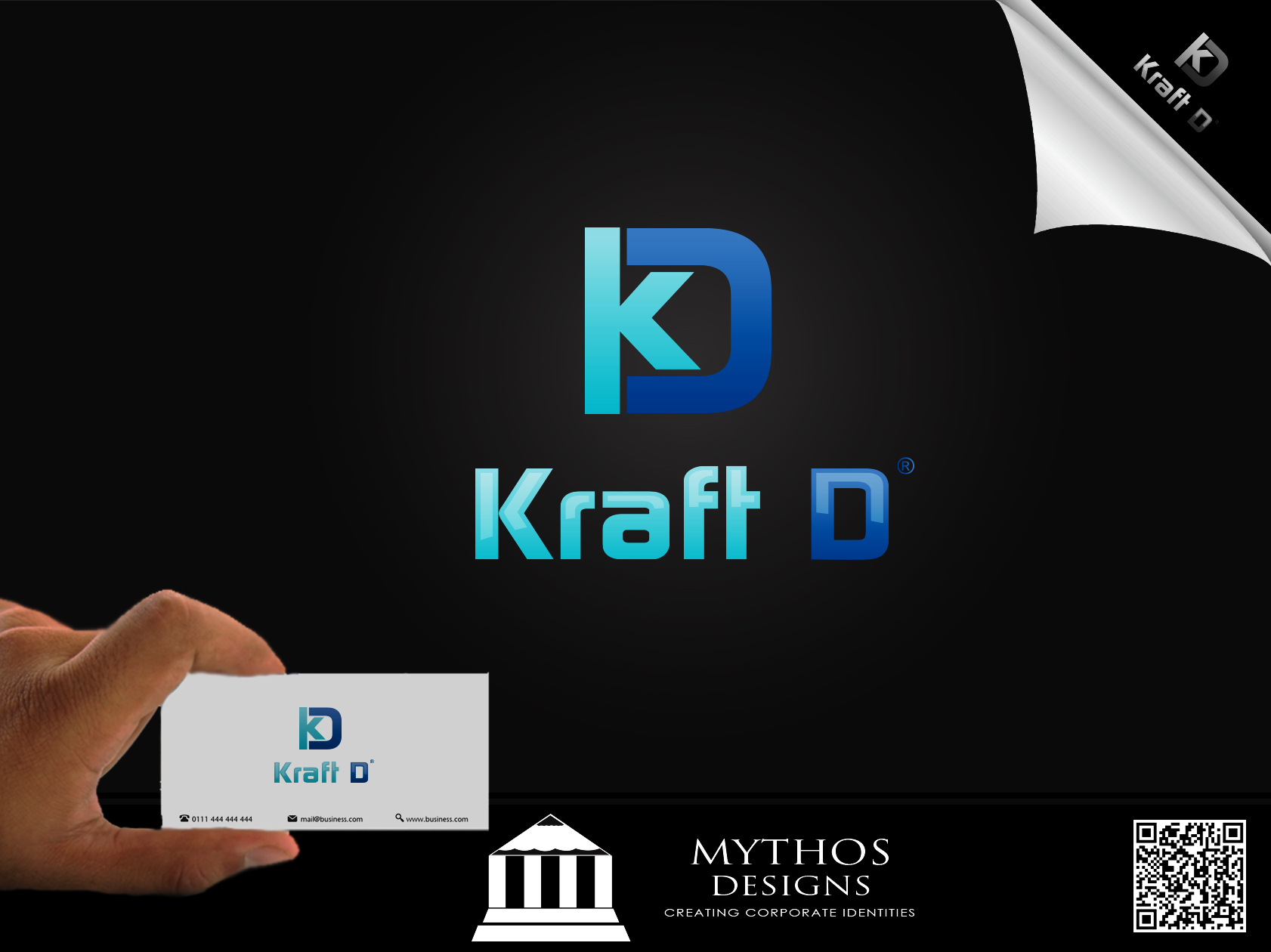 Logo Design by Mythos Designs - Entry No. 272 in the Logo Design Contest Unique Logo Design Wanted for Kraft D Inc.