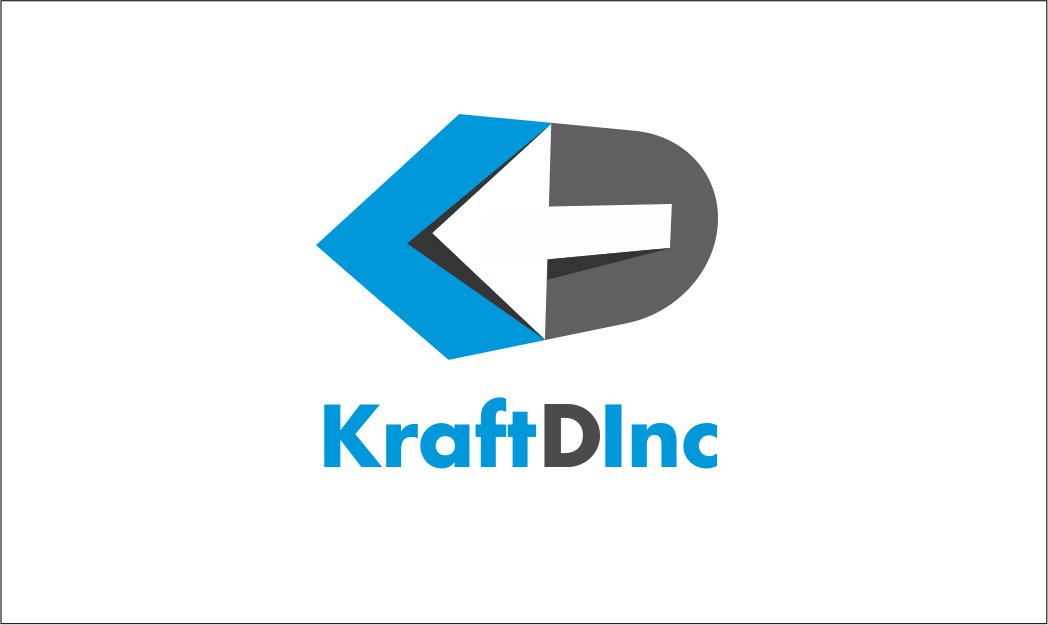 Logo Design by Private User - Entry No. 274 in the Logo Design Contest Unique Logo Design Wanted for Kraft D Inc.