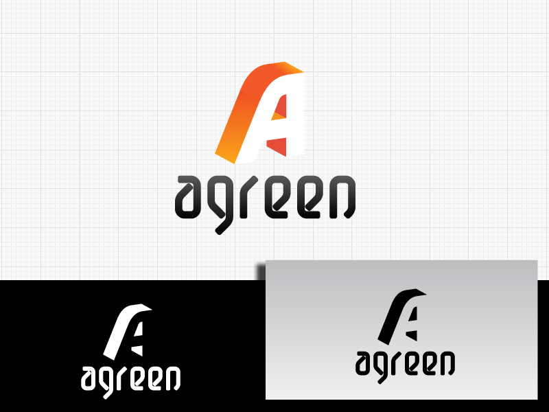 Logo Design by Private User - Entry No. 101 in the Logo Design Contest Inspiring Logo Design for Agreen.