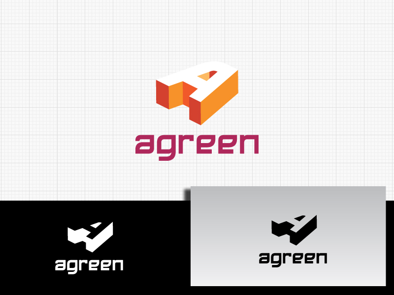 Logo Design by Private User - Entry No. 102 in the Logo Design Contest Inspiring Logo Design for Agreen.