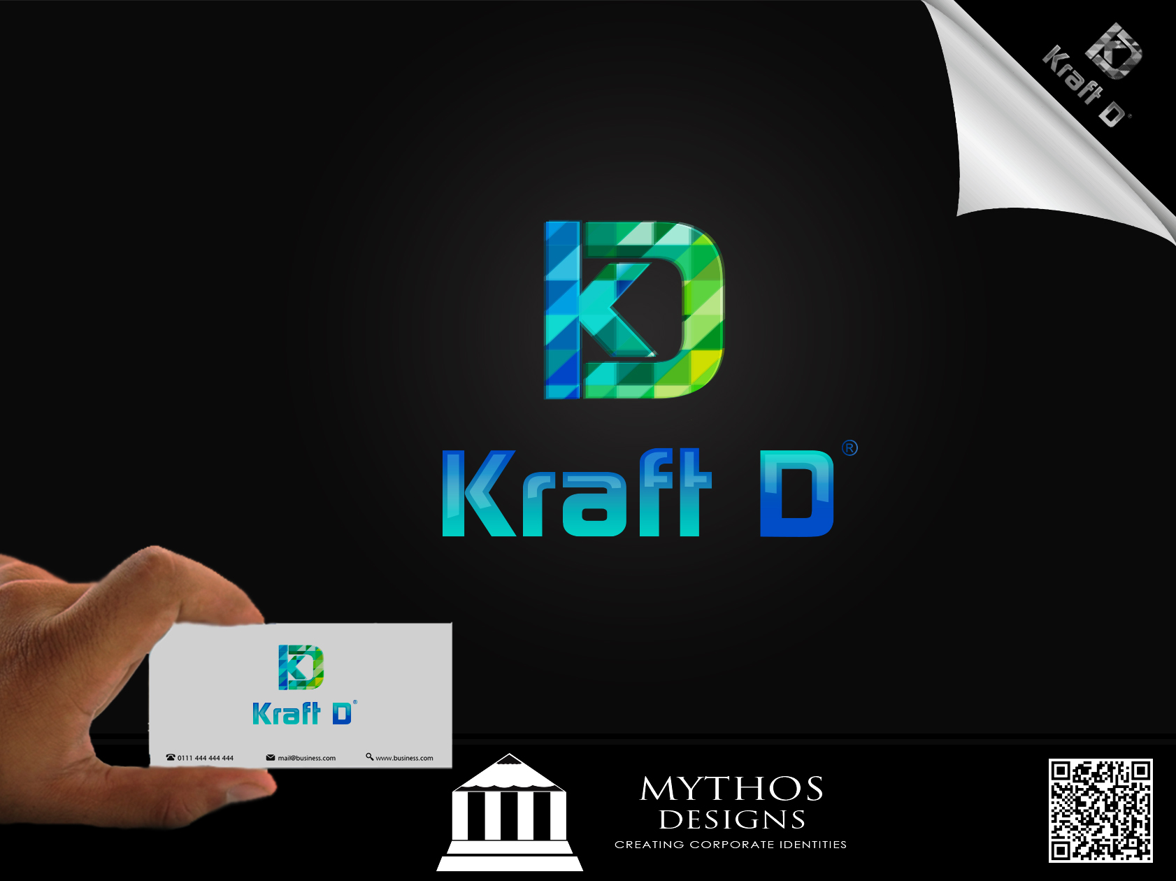 Logo Design by Mythos Designs - Entry No. 276 in the Logo Design Contest Unique Logo Design Wanted for Kraft D Inc.
