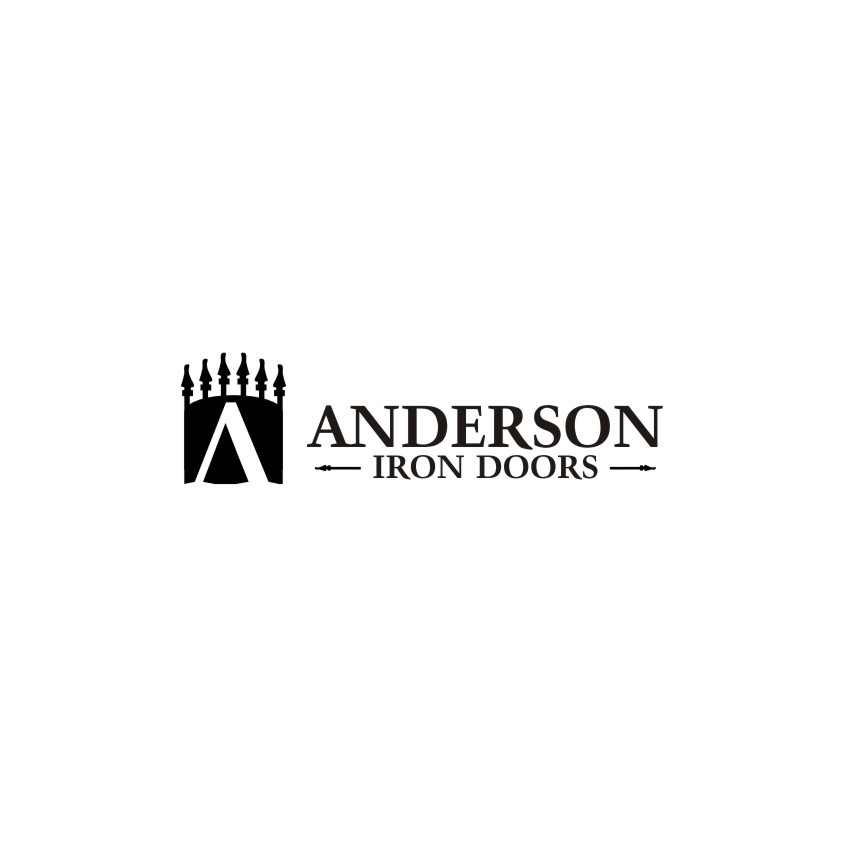 Logo Design by untung - Entry No. 13 in the Logo Design Contest Artistic Logo Design for Anderson Iron Doors.