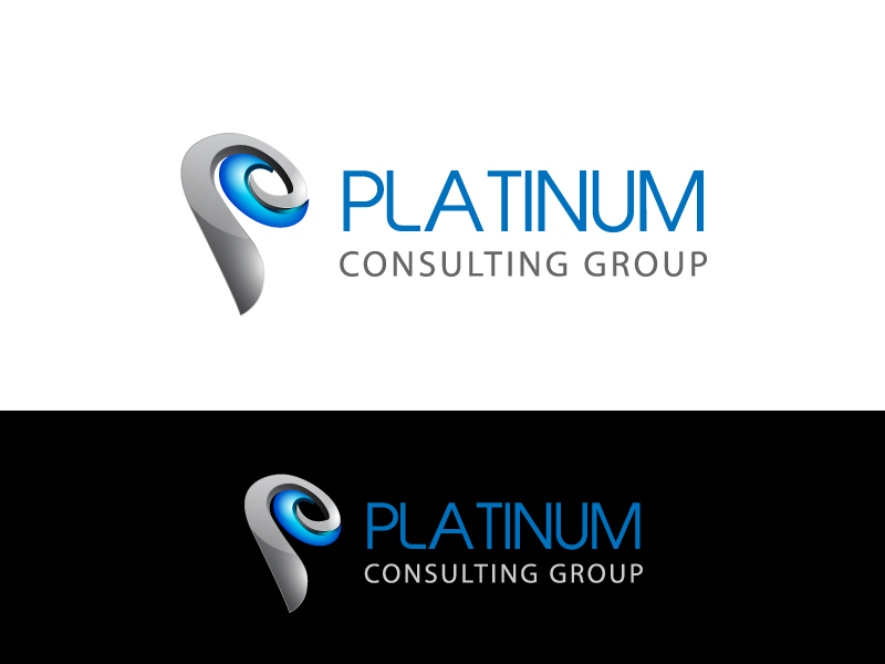Logo Design by Rabin Pal - Entry No. 45 in the Logo Design Contest Captivating Logo Design for Platinum Consulting Group.