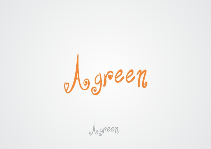 Logo Design by Rizwan Saeed - Entry No. 103 in the Logo Design Contest Inspiring Logo Design for Agreen.
