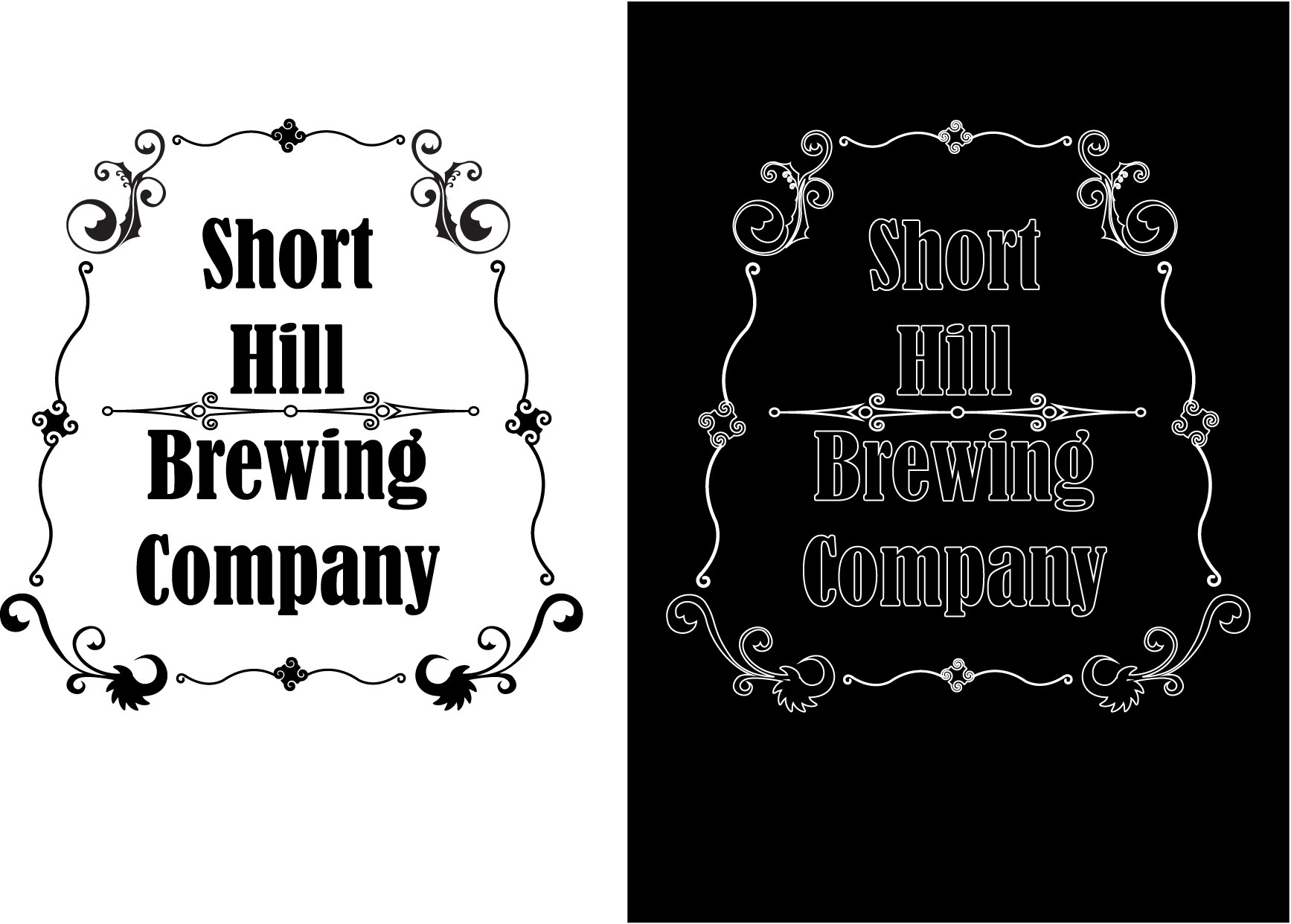 Logo Design by bilons - Entry No. 1 in the Logo Design Contest Unique Logo Design Wanted for Short Hill Brewing Company.