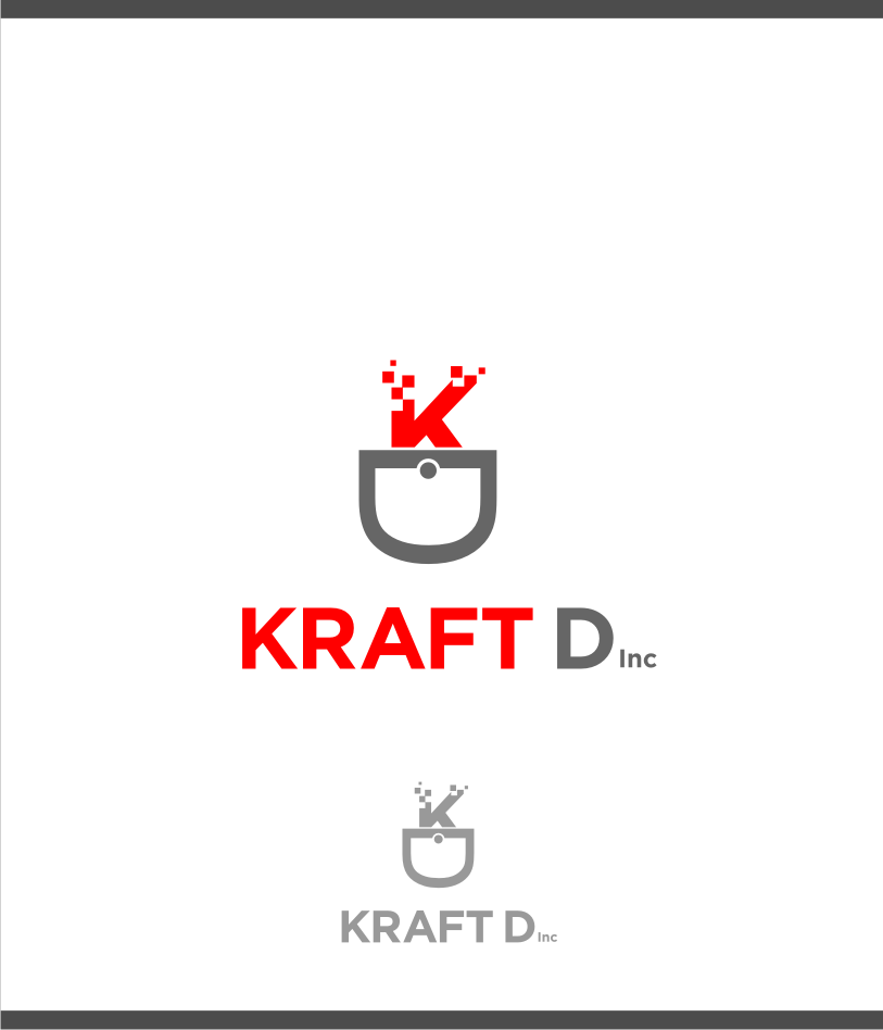 Logo Design by graphicleaf - Entry No. 279 in the Logo Design Contest Unique Logo Design Wanted for Kraft D Inc.