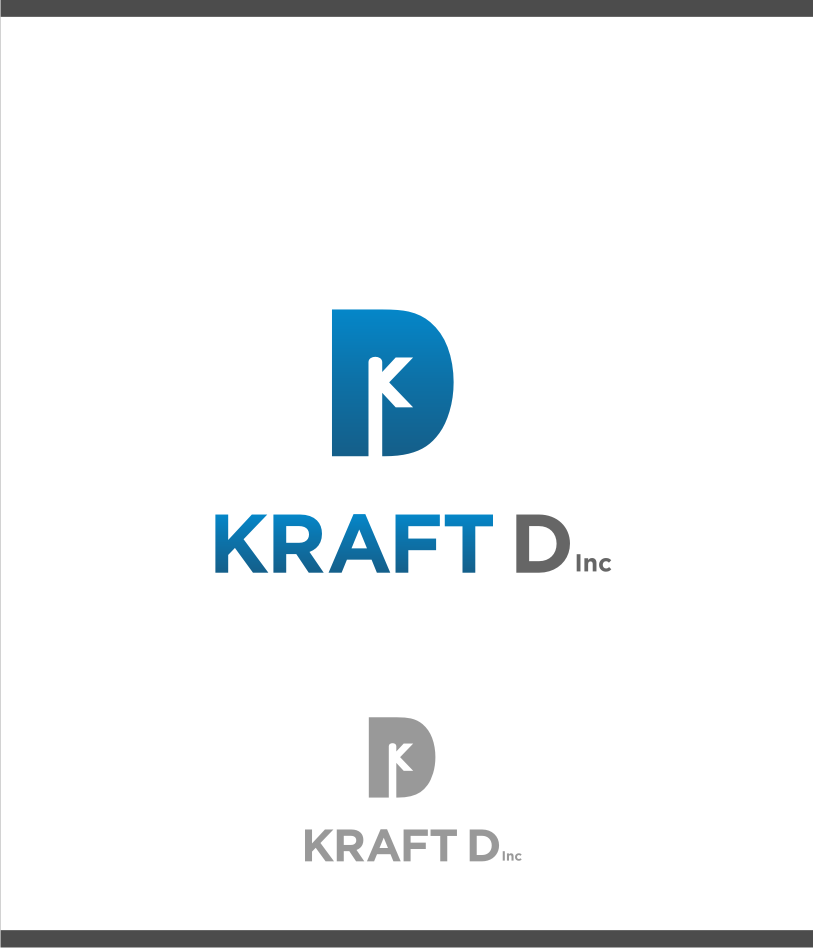Logo Design by graphicleaf - Entry No. 280 in the Logo Design Contest Unique Logo Design Wanted for Kraft D Inc.