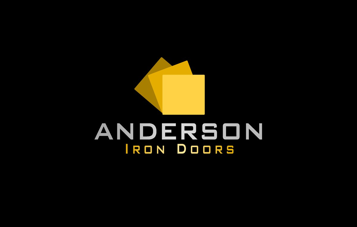 Logo Design by Respati Himawan - Entry No. 17 in the Logo Design Contest Artistic Logo Design for Anderson Iron Doors.