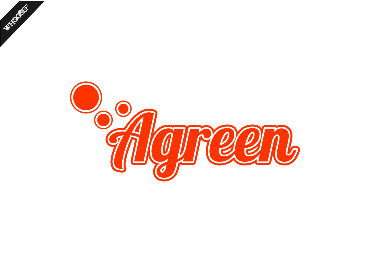 Logo Design by whoosef - Entry No. 110 in the Logo Design Contest Inspiring Logo Design for Agreen.