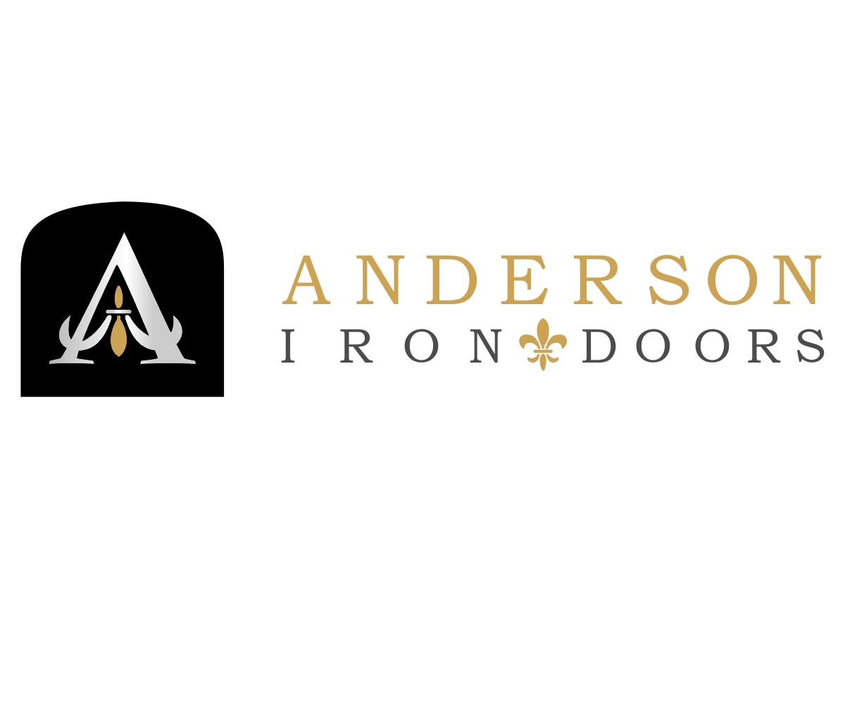 Logo Design by franz - Entry No. 20 in the Logo Design Contest Artistic Logo Design for Anderson Iron Doors.