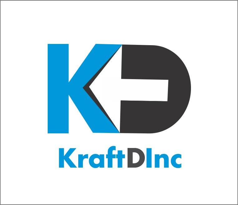 Logo Design by Private User - Entry No. 283 in the Logo Design Contest Unique Logo Design Wanted for Kraft D Inc.