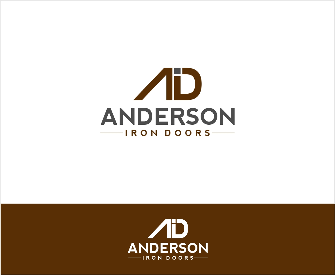 Logo Design by haidu - Entry No. 22 in the Logo Design Contest Artistic Logo Design for Anderson Iron Doors.