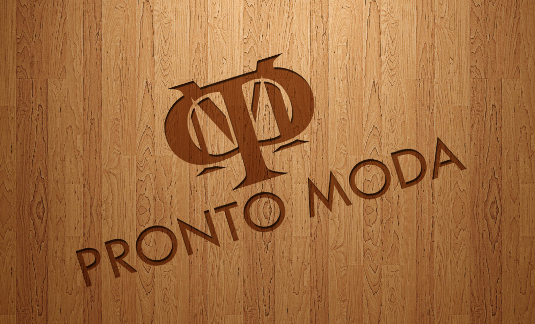 Logo Design by lagalag - Entry No. 13 in the Logo Design Contest Captivating Logo Design for Pronto moda.