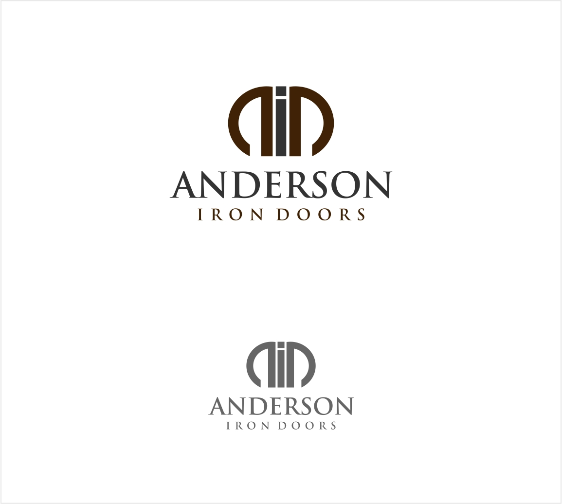 Logo Design by haidu - Entry No. 23 in the Logo Design Contest Artistic Logo Design for Anderson Iron Doors.