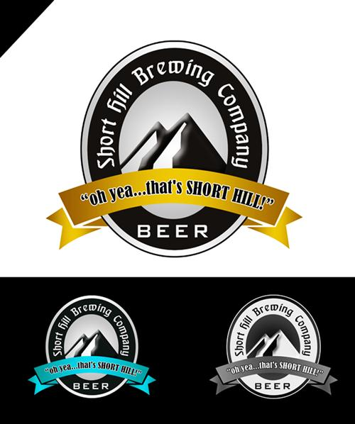 Logo Design by Respati Himawan - Entry No. 2 in the Logo Design Contest Unique Logo Design Wanted for Short Hill Brewing Company.