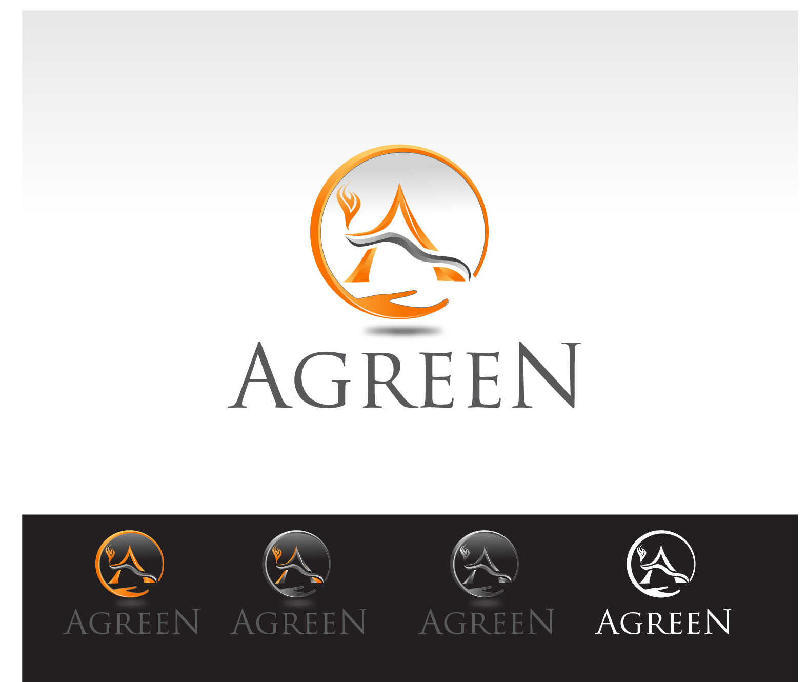 Logo Design by Robert Engi - Entry No. 112 in the Logo Design Contest Inspiring Logo Design for Agreen.