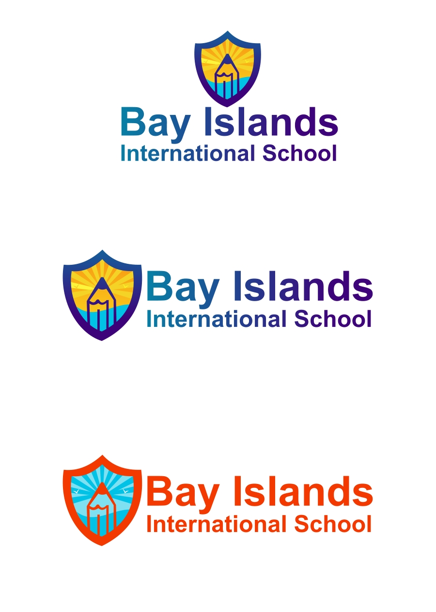 Logo Design by Private User - Entry No. 42 in the Logo Design Contest Creative Logo Design for Bay Islands International School.